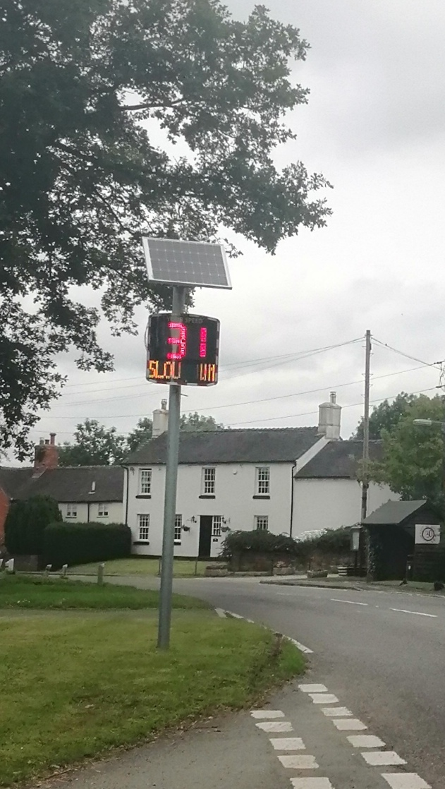 Image of the Speed Indicator Device at Eastholme